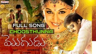Choosthunna Full Song - Mogudu