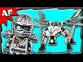 Lego Ninjago Zane's TITANIUM DRAGON 70748 Stop Motion Build Review