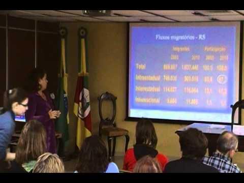 """Debates FEE: """"Mobilidade humana e dinâmicas migratórias"""" - Maria de Lourdes Jardim - 02/04"""