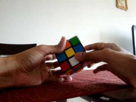 Rubiks Cube Solution Explanation, Instruction, Step-by-step Equations and Formula - Part 1 of 3