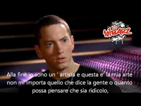 Eminem parla dei suoi problemi con la droga, intervista sottolineata. 2009