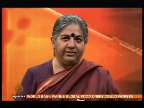 Vandana Shiva on global food crisis