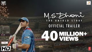 M.S.Dhoni - The Untold Story Official Trailer