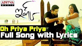 Oh Priya Priya Song With Lyrics - Ishq