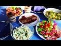 Фрагмент с начала видео Праздничный ужин для двоих