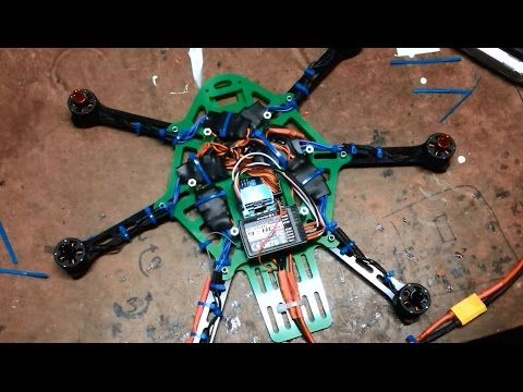 Hobbyking Thorax Hexacopter Build with EMAX 1806 PLASTIC Motors - UCIJy-7eGNUaUZkByZF9w0ww