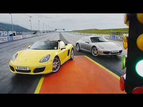 2012 Porsche 911 Carrera (991) vs. 2013 Posrsche Boxster S - Showdown - CAR and DRIVER