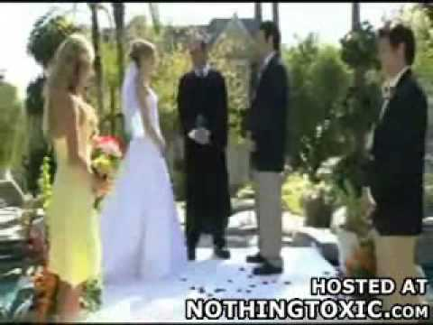 Funny Wedding Accident