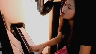 """Skinny Love"" - ""Bon Iver"" / ""Birdy"" Official Music Video Cover By Jasmine Thompson Age 11"