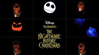 "Nick Pitera ""One Man This is Halloween"" Disney's The Nightmare Before Christmas"