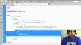 Diseña tu propio reproductor de video con HTML5 - Parte 1(Diseño)