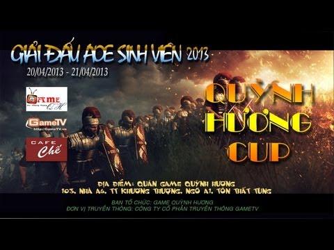 AOE SV 2013 – Quỳnh Hương Cup | Bốc thăm chia bảng