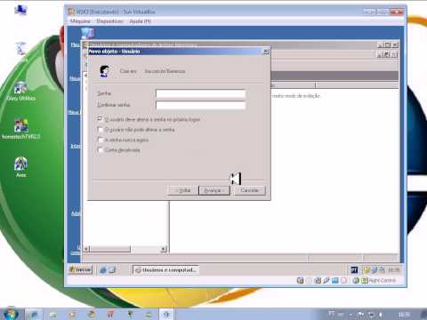 Windows 2003 Server (Criando Contas)