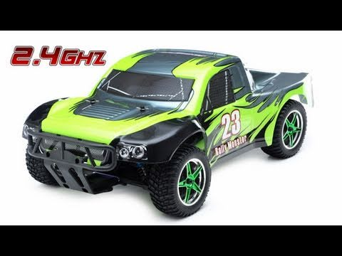 1/10th 2.4Ghz Brushless Exceed RC Rally Monster Electric Racing Truck V2 Review