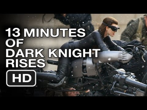 The Dark Knight Rises 13 Haunting Minutes of Super Slow Motion - Movie Trailer HD