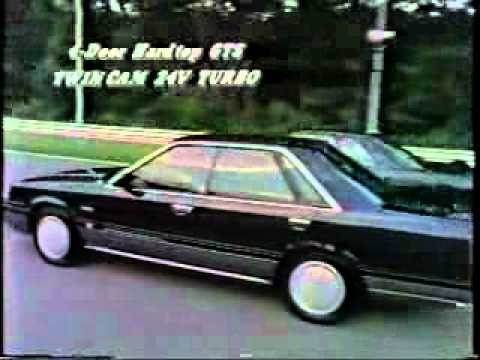 Nissan Skyline R31. Promotional video.