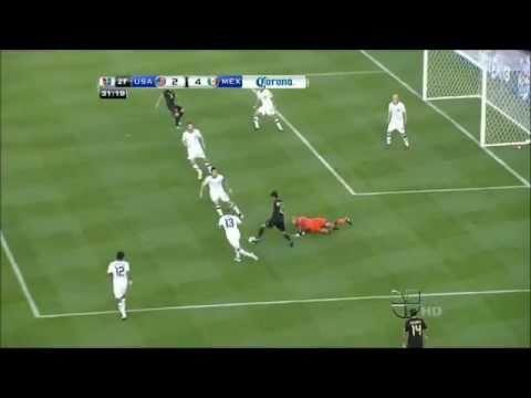 Gol Giovani Dos Santos - Copa Oro 2011 Mexico 4 U.S 2 HD
