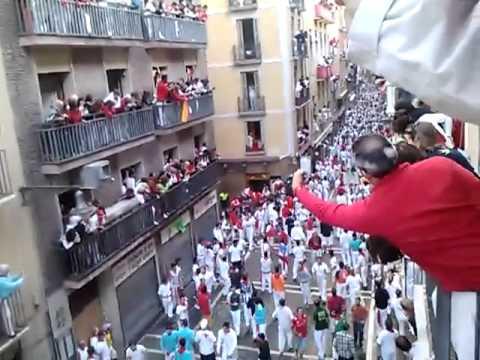 encierro san fermin 14/07/2012