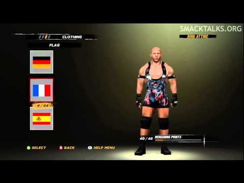 WWE '12 Ryback CAW Formula by HotavioH