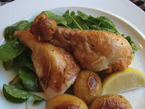 Julia Child-s Roasted Chicken - Roast Chicken Recipe