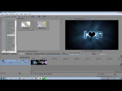 [FR] Tutoriel :Sony vegas Pro 11 Faire des montage video [Episode 1]