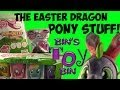 Easter Dragon My Little Pony Fun! Light-Up Rings Blind Bags, Pop-Outz, & Glasses! by Bin's Toy Bin