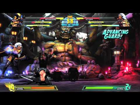 Marvel vs. Capcom 3 Gameplay Video #12