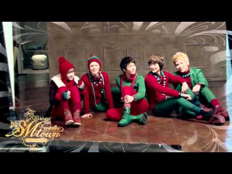 2011 SMTOWN_Santa U Are The One_Music Video