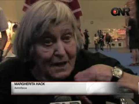 Margherita Hack, intervista al Salone del libro di Torino 2011