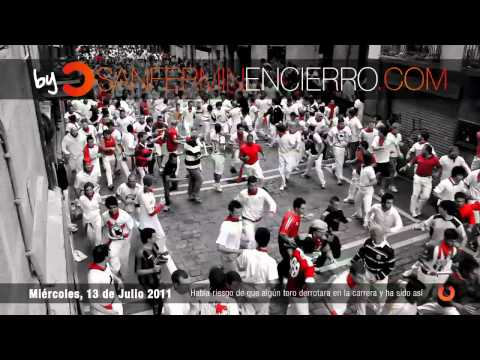 Encierro 13 de Julio 2011 - El Pilar