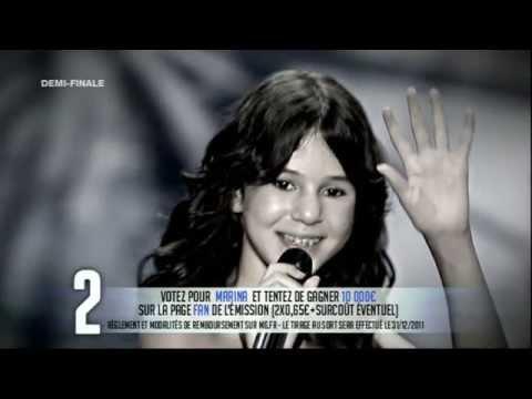 Audition Marina Dalmas, 3e demi-finale (Complète)