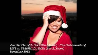 The Christmas Song LIVE on radio - Jennifer Chung ft. Christopher Kim [guitar]