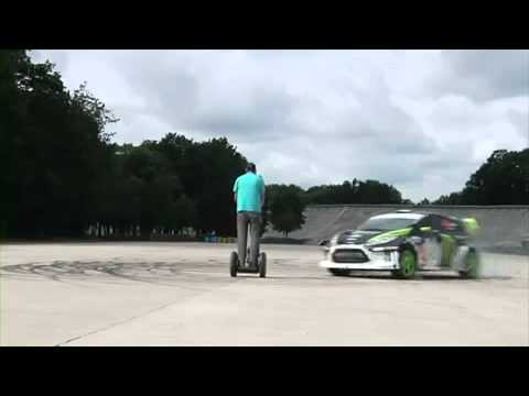 Ken Block Ford Fiesta Gymkhana Ultimate Playground Lautodrome.mp4