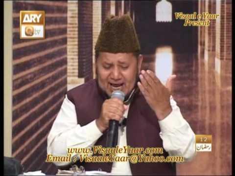 PUNJABI NAAT(Lagiyan Ne Mojan)AKHTAR QURESHI IN QTV.BY   Naat E Habib