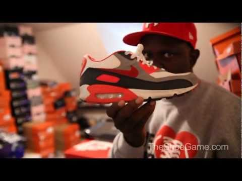 Greg Street's Sneaker Heat (Sneaker Collection) Part 1
