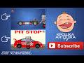 Фрагмент с конца видео - Автомеханик Роби и Робот Тесла. Полицейская машина. Погоня за пикапом. Автомойка.