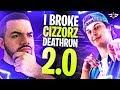 I BROKE CIZZORZ DEATHRUN 2.0! CIZZORZ LIVE REACTS! (Fortnite: Battle Royale)