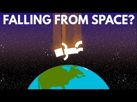 What If You Fell From Space to Earth?