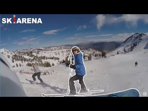 SNOWBOARDERS vs SKIERS #10 fights, crashes and angry people