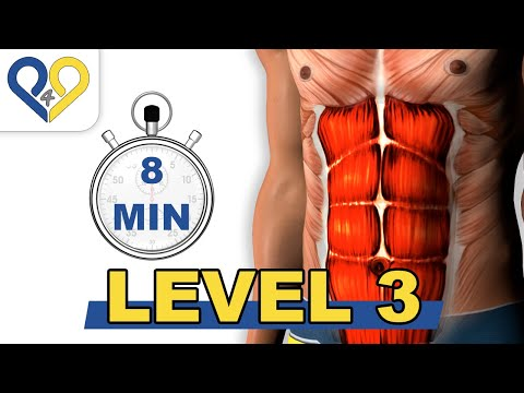 8 Min Abs - Lvl 3 - P4P Music