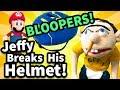 SML Bloopers: Jeffy Breaks His Helmet
