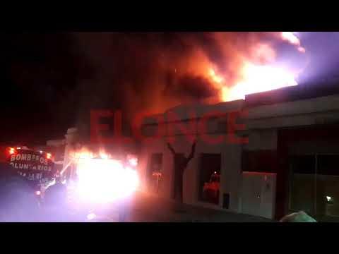 Incendio en casa de electrodomésticos de Chajarí