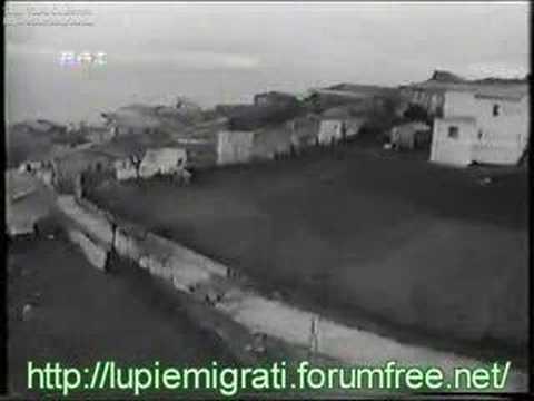 1/4 - Documentario emigrazione: Frigento come campione -1972