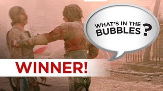What's in the Bubbles Winner! - Can you do better? Go To WhatsInTheBubbles Channel