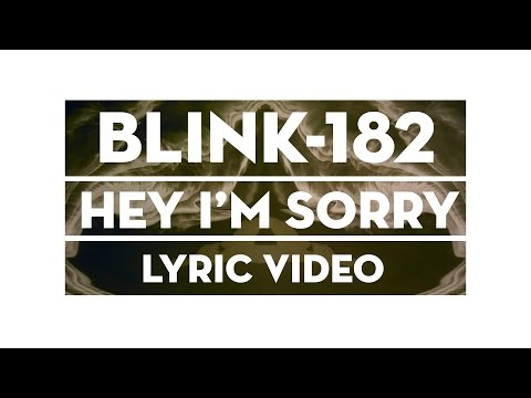 Hey I'm Sorry (Video Lirik)