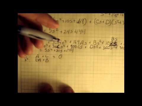Flight Dynamics and Control: Lecture 5, Using Laplace transforms