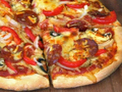 Pepperoni Pizza Barbecue Recipe