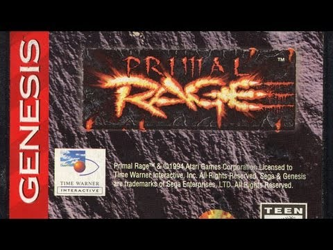 Classic Game Room - PRIMAL RAGE review for Sega Genesis