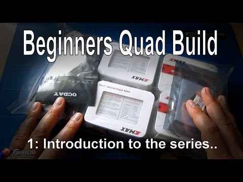 (1/9) Quadcopter building for beginners: Introduction (kit from Gearbest.com) - UCp1vASX-fg959vRc1xowqpw