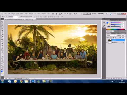 Photoshop CS5 Tutorial - Basic tools